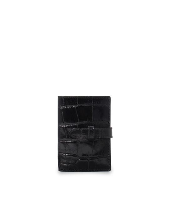 ヴィジット カード ホルダー BLACK