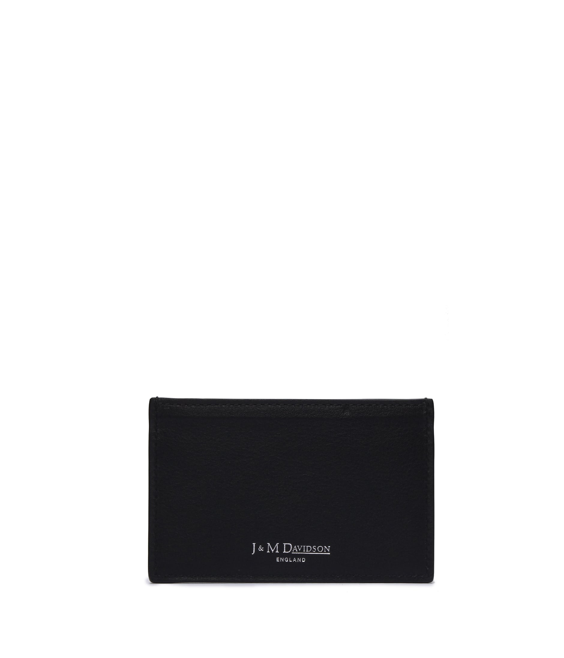 FLAT CREDIT CARD CASE WITH STUDS 詳細画像 BLACK 2