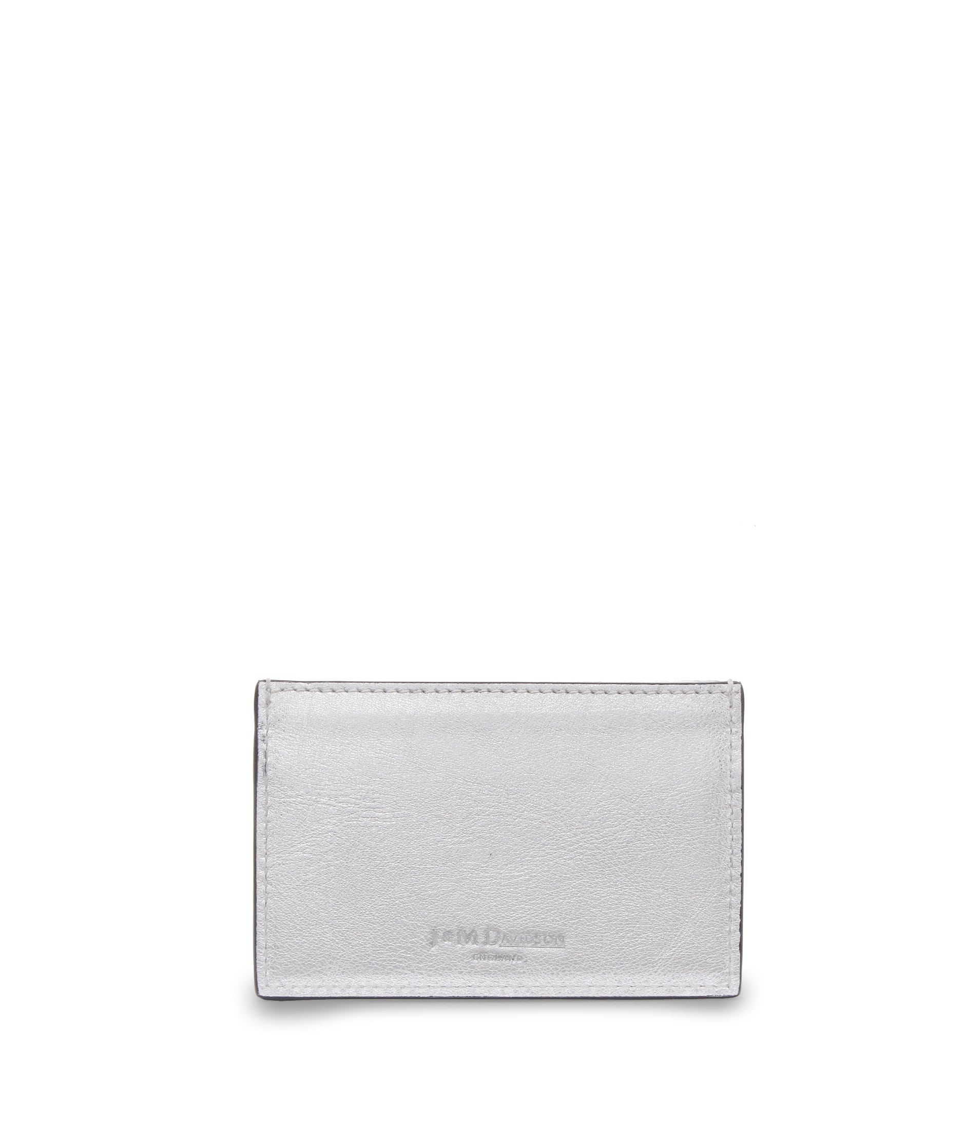 FLAT CREDIT CARD CASE WITH STUDS 詳細画像 SILVER 2