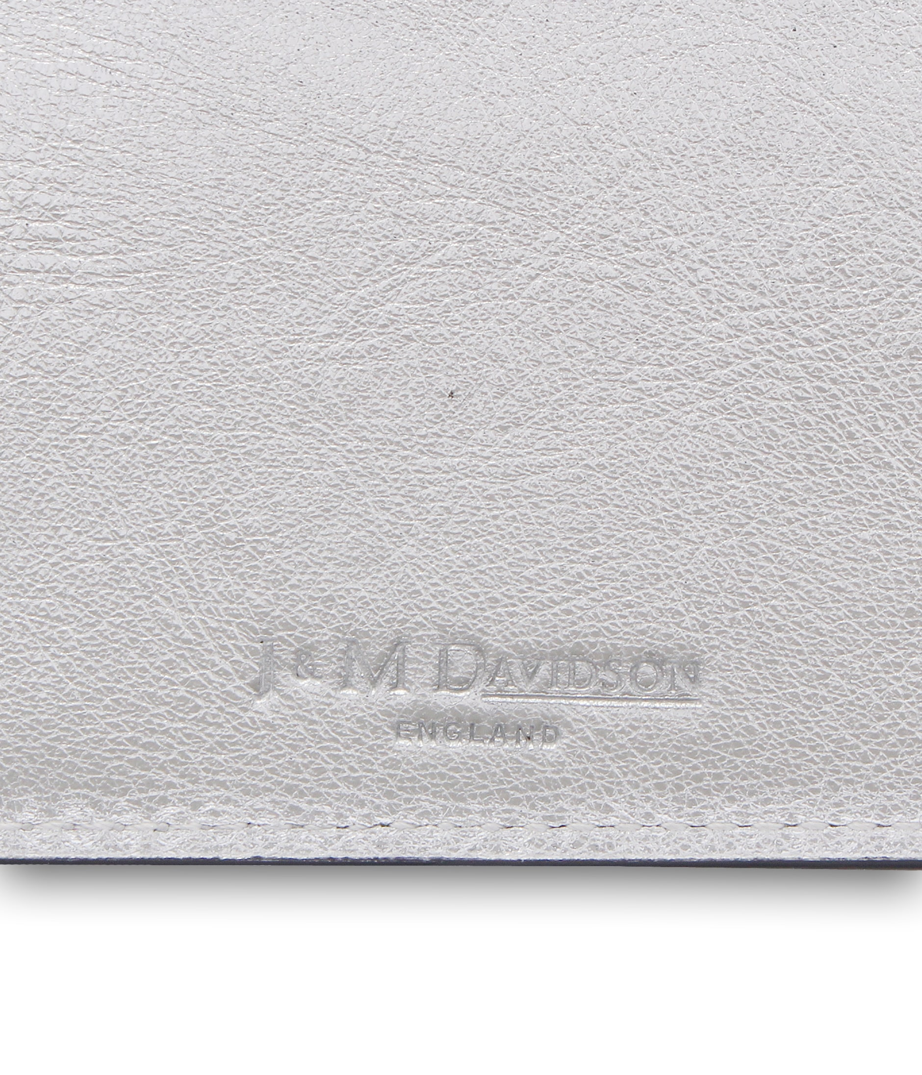 FLAT CREDIT CARD CASE WITH STUDS 詳細画像 SILVER 3