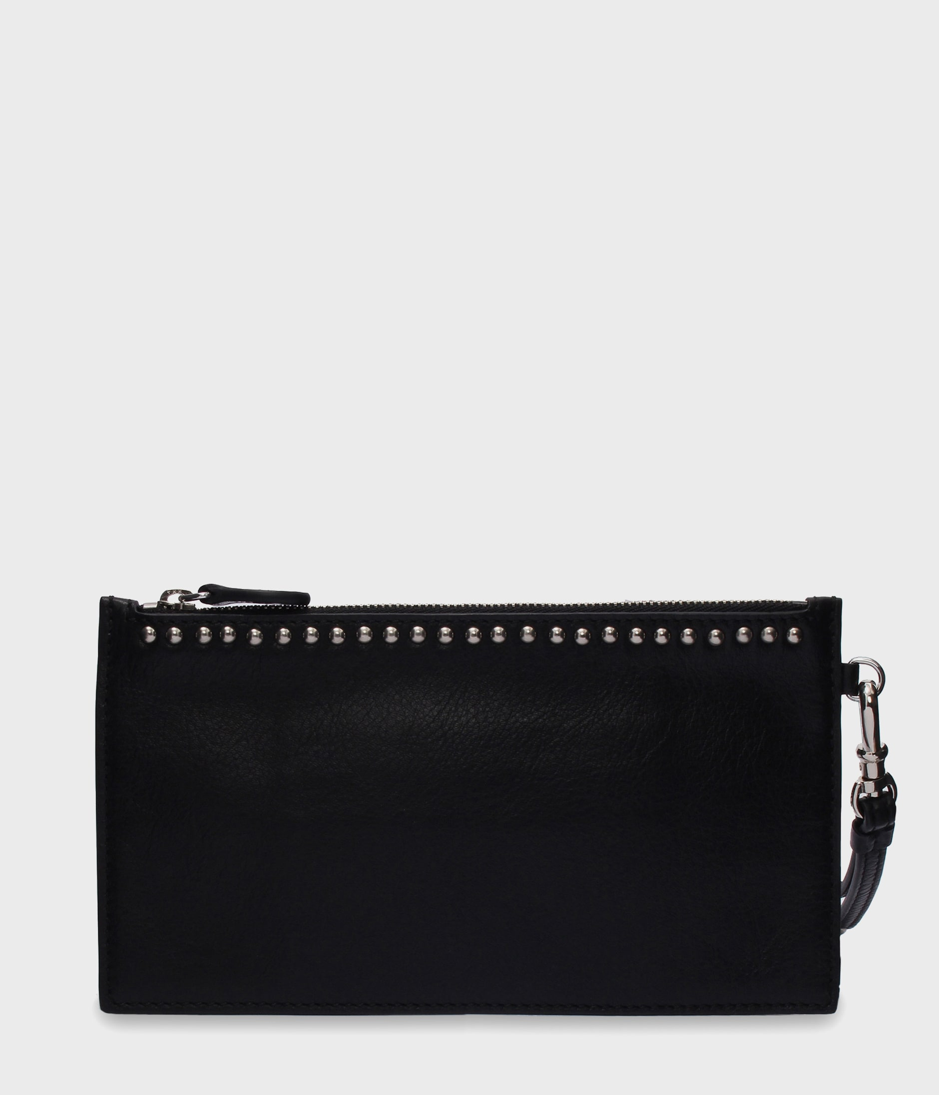 TRAVEL WALLET WITH STUDS 詳細画像 BLACK 1