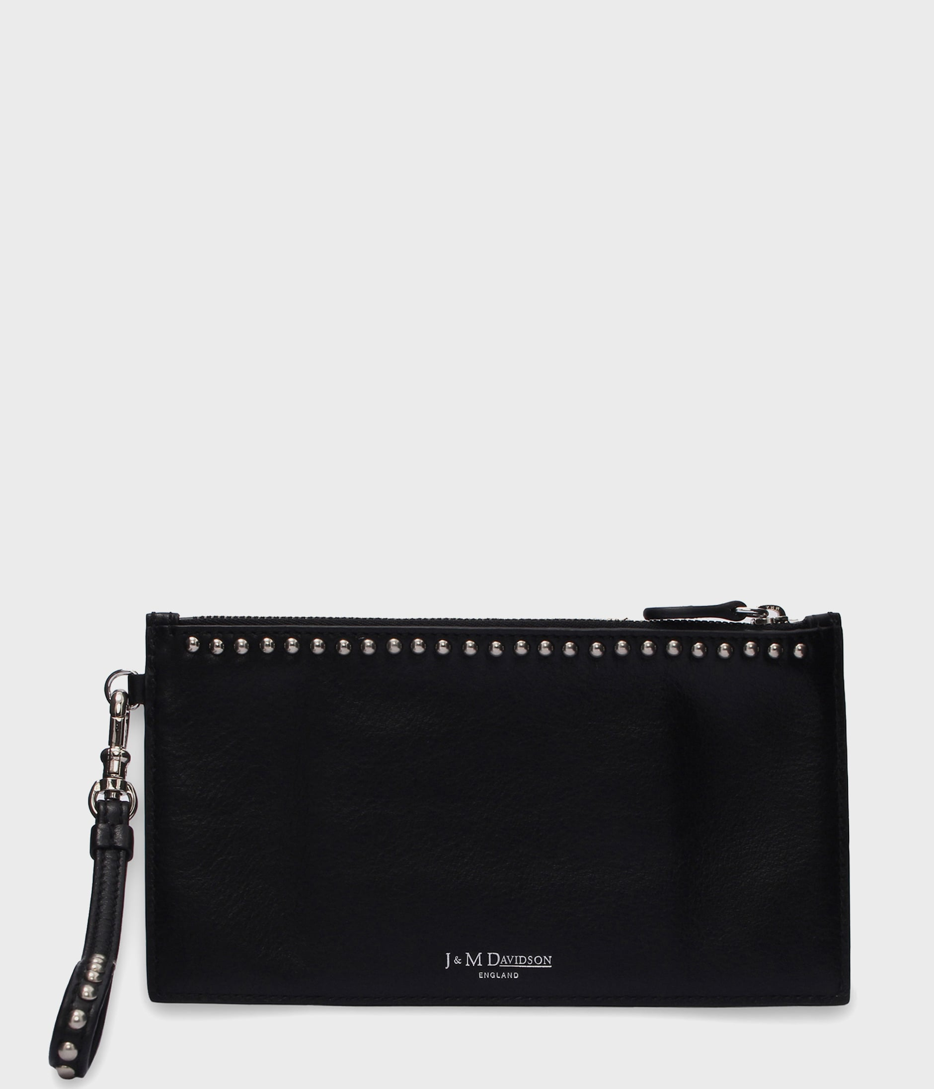 TRAVEL WALLET WITH STUDS 詳細画像 BLACK 2