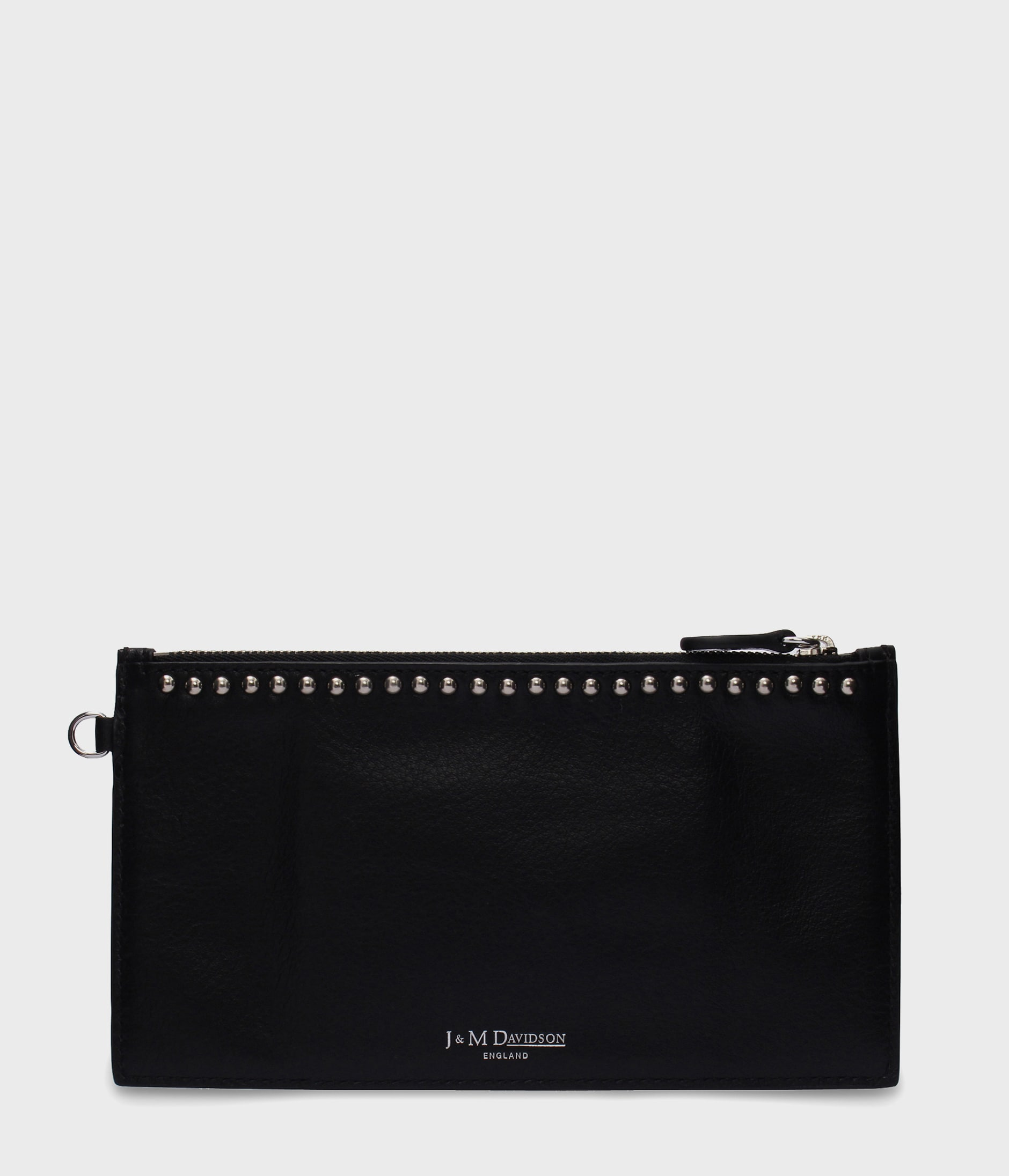 TRAVEL WALLET WITH STUDS 詳細画像 BLACK 3