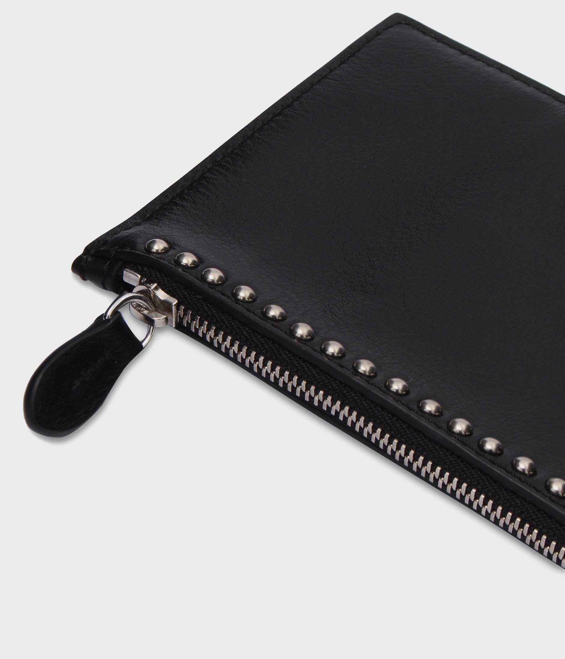 TRAVEL WALLET WITH STUDS 詳細画像 BLACK 4