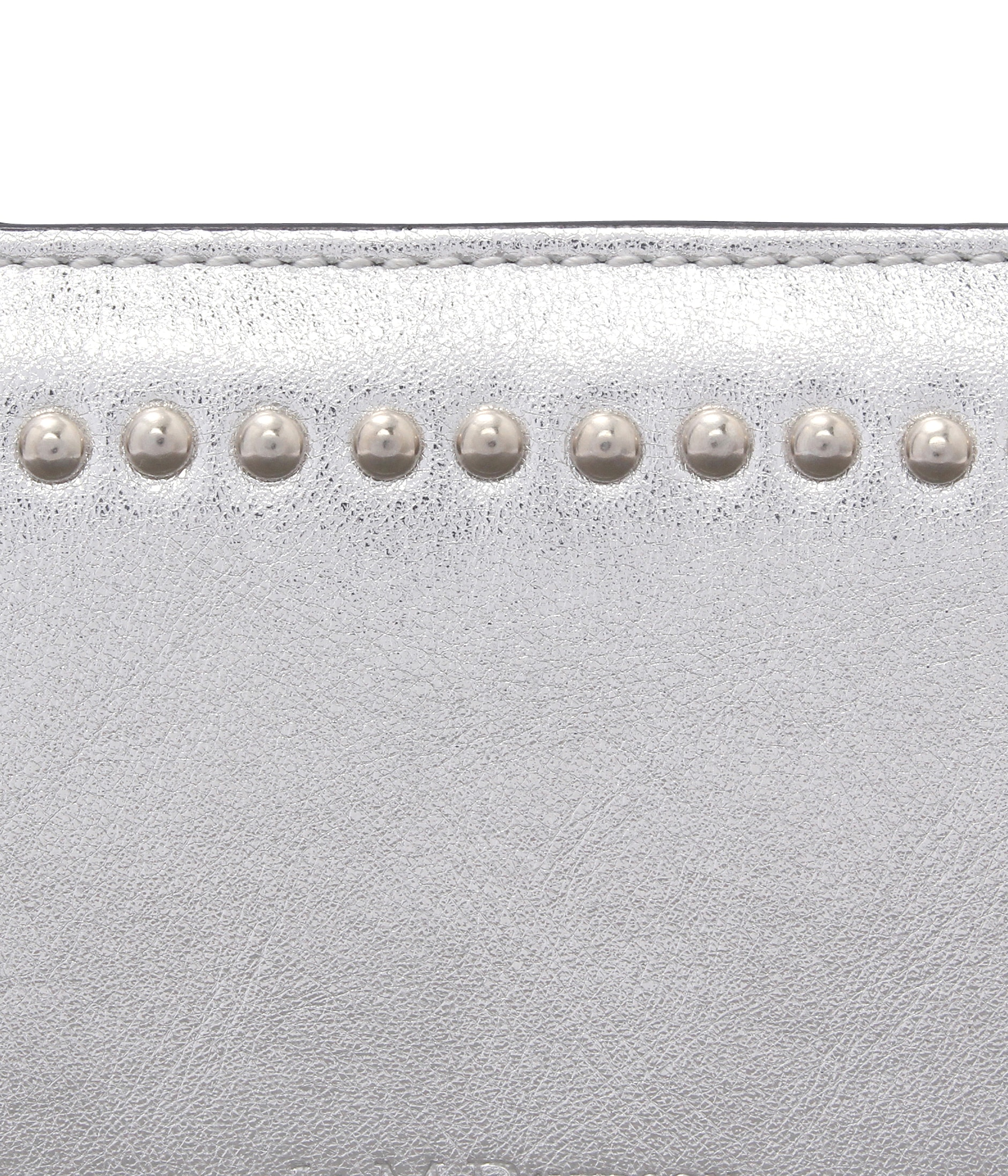 SMALL ZIP PURSE WITH STUDS 詳細画像 SILVER 4