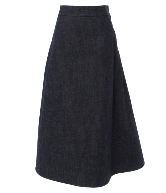 ウィロー スカート BLUE