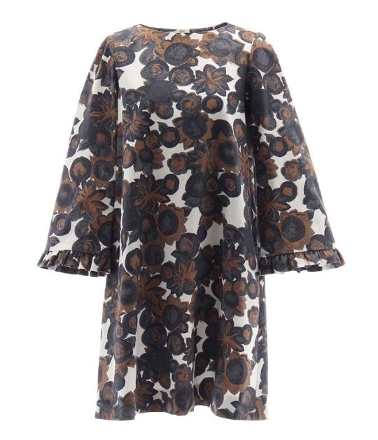 キラ ドレス BROWN