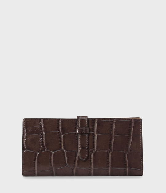 ELONGATED TAB WALLET