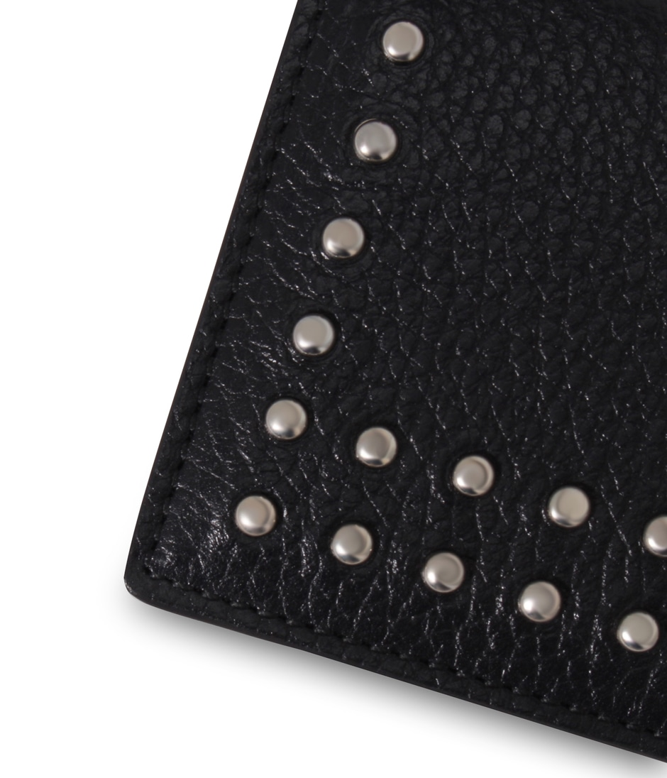 VISIT CARD HOLDER WITH STUDS 詳細画像 BLACK 3
