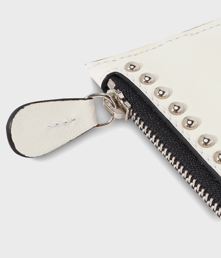 KEY POUCH WITH STUDS 詳細画像 NEW WHITE 3