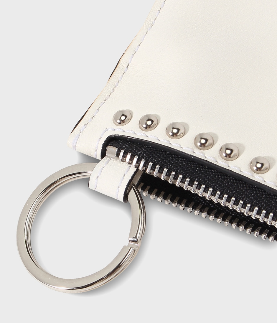 KEY POUCH WITH STUDS 詳細画像 NEW WHITE 4