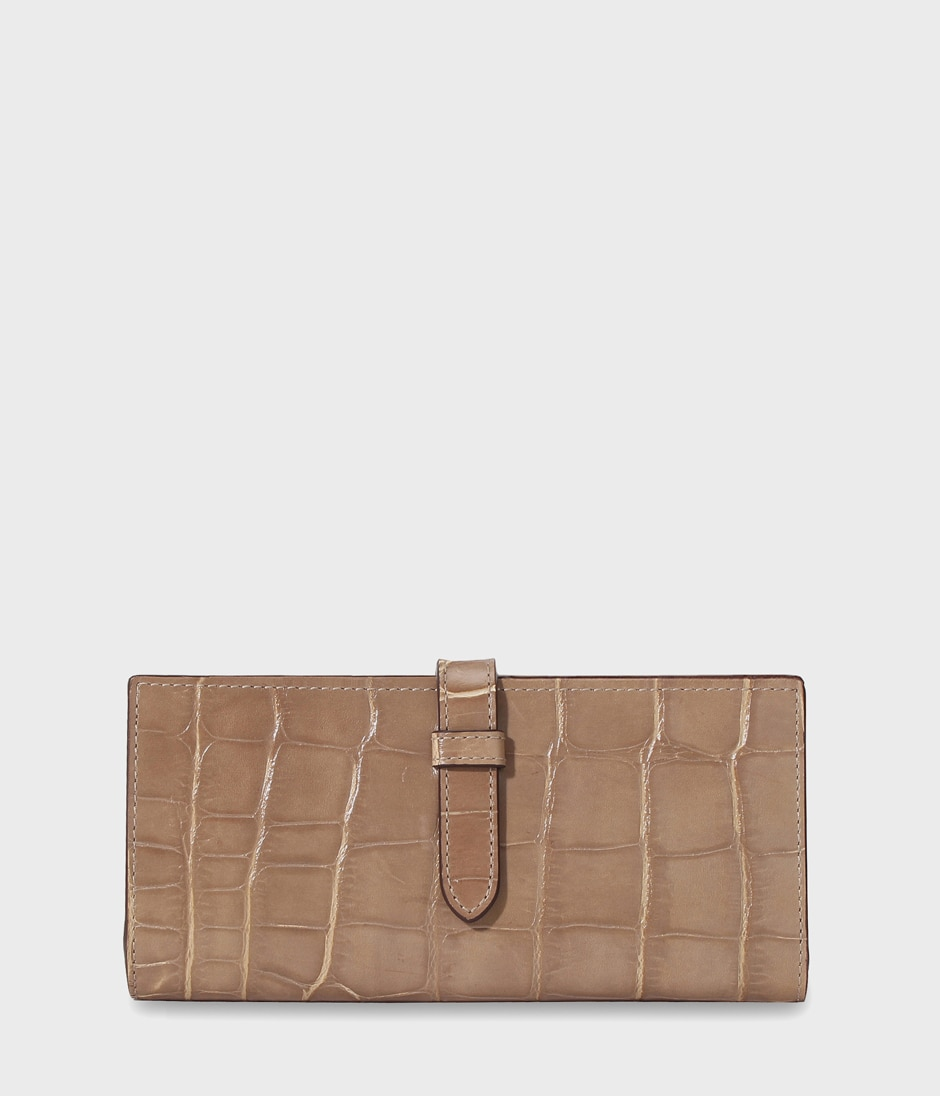 ELONGATED TAB WALLET 詳細画像 TAUPE 1
