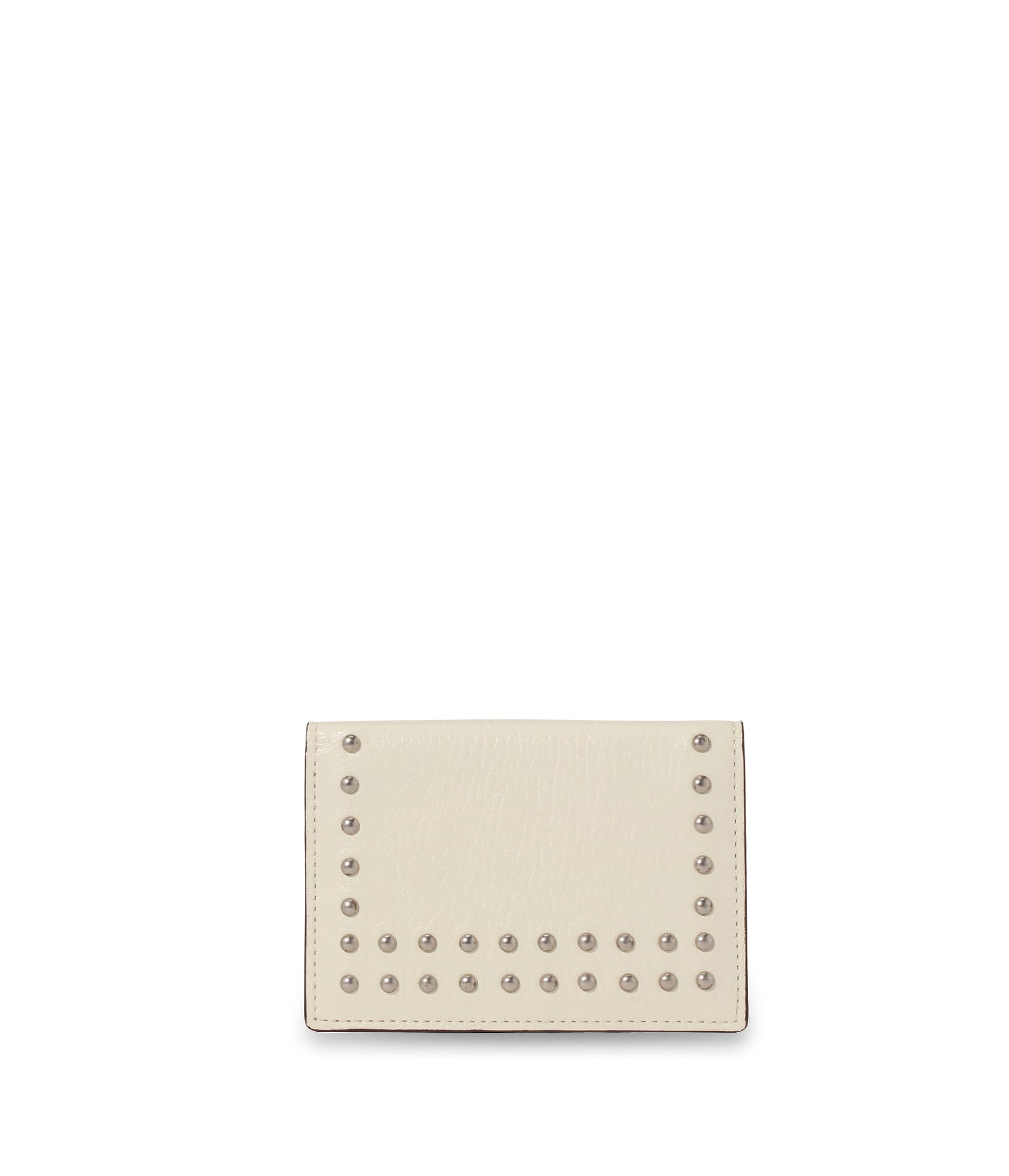 VISIT CARD HOLDER WITH STUDS 詳細画像 W.WHITE 1