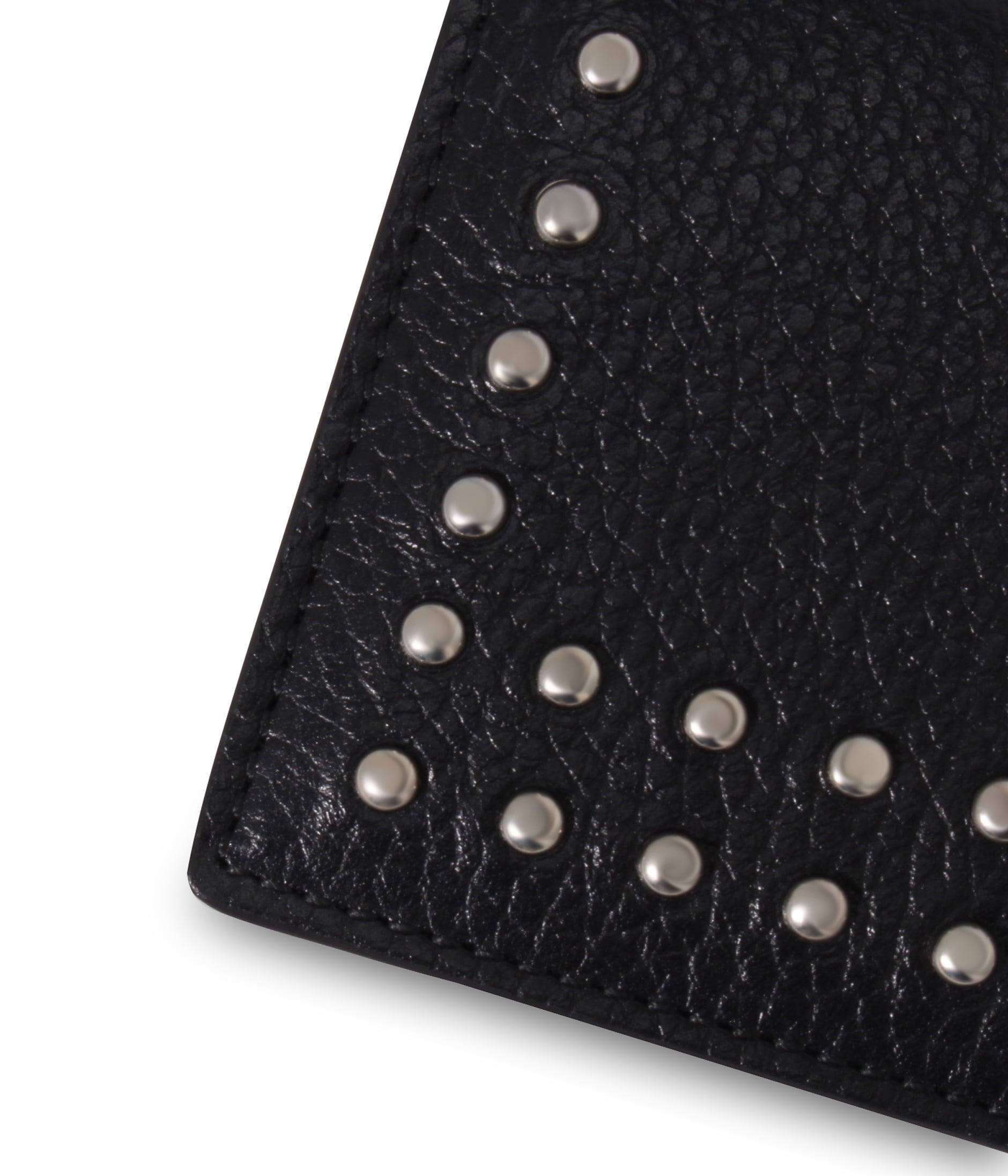 VISIT CARD HOLDER WITH STUDS 詳細画像 W.WHITE 3