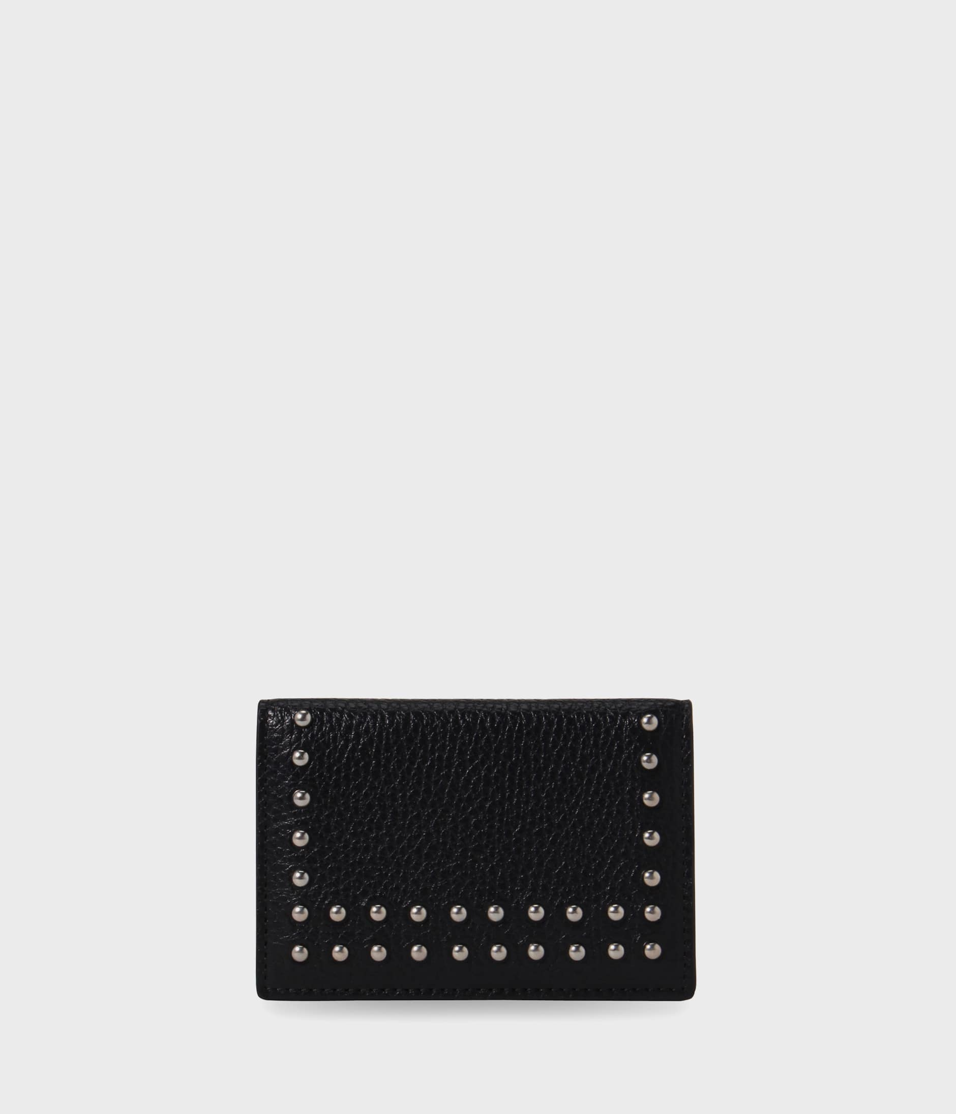 VISIT CARD HOLDER WITH STUDS 詳細画像 BLACK 1