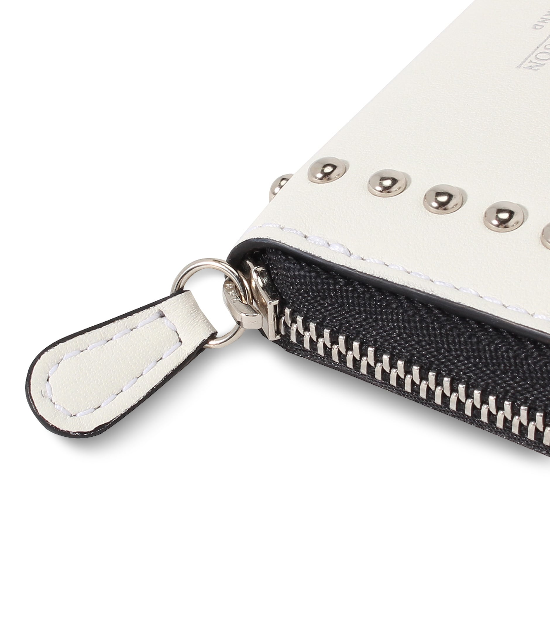 SMALL ZIP PURSE WITH STUDS 詳細画像 NEW WHITE 5