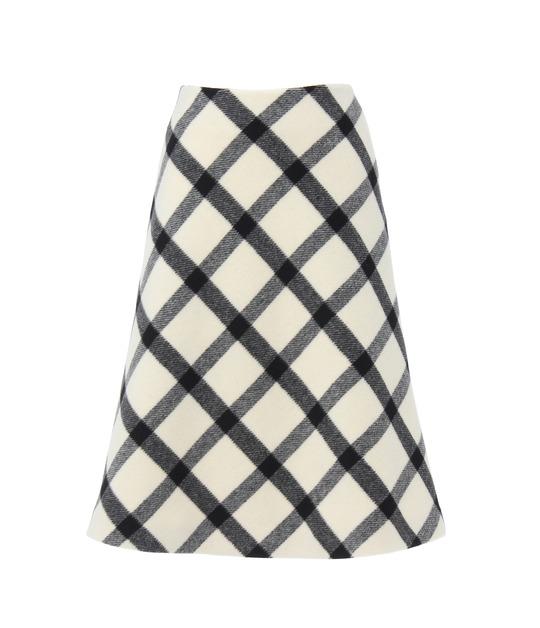 ポーラ スカート BLACK&WHITE