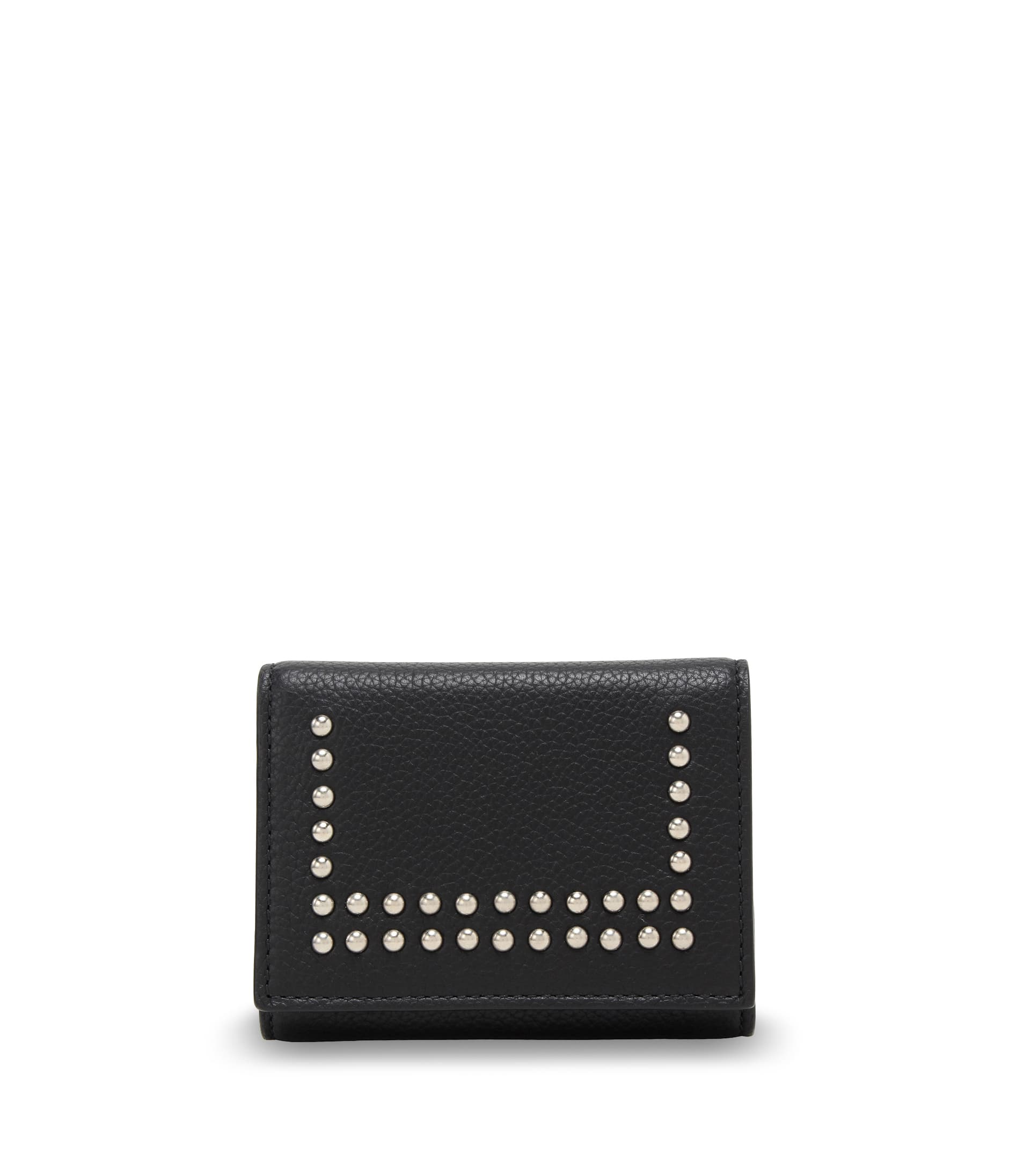 SMALL FOLDED WALLET WITH STUDS 詳細画像 BLACK 1
