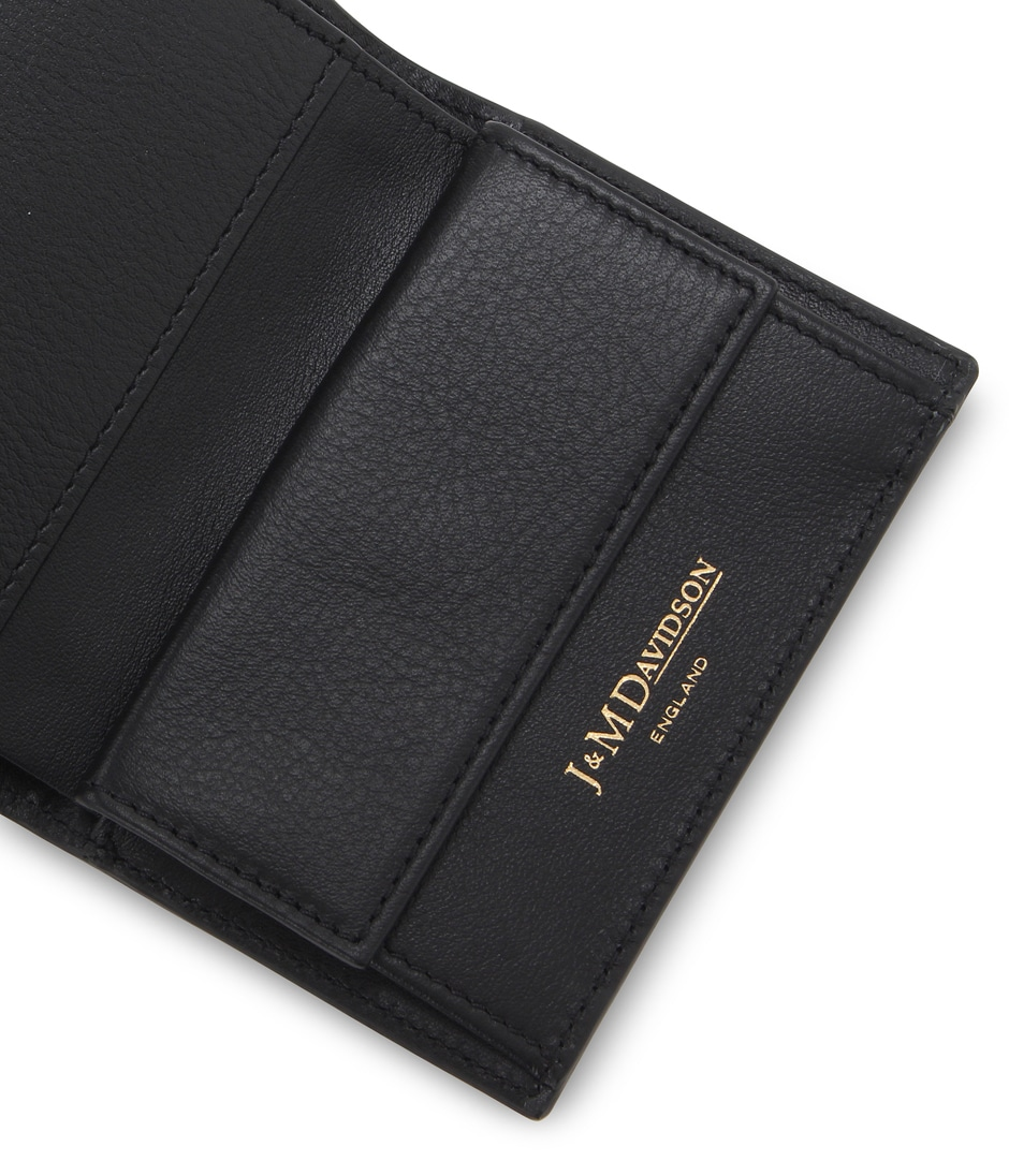FOLDED WALLET WITH STUDS 詳細画像 WINE 4