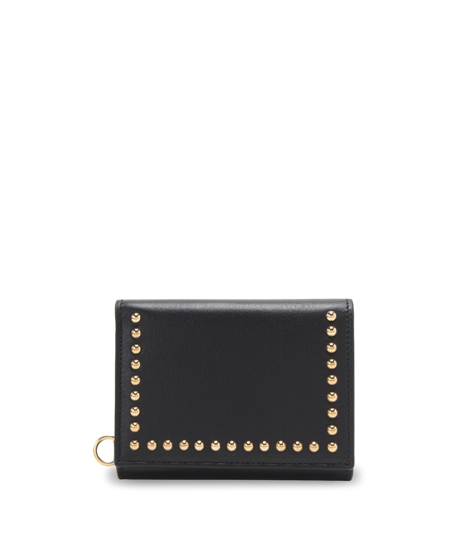 FOLDED WALLET WITH STUDS 詳細画像 BLACK 1
