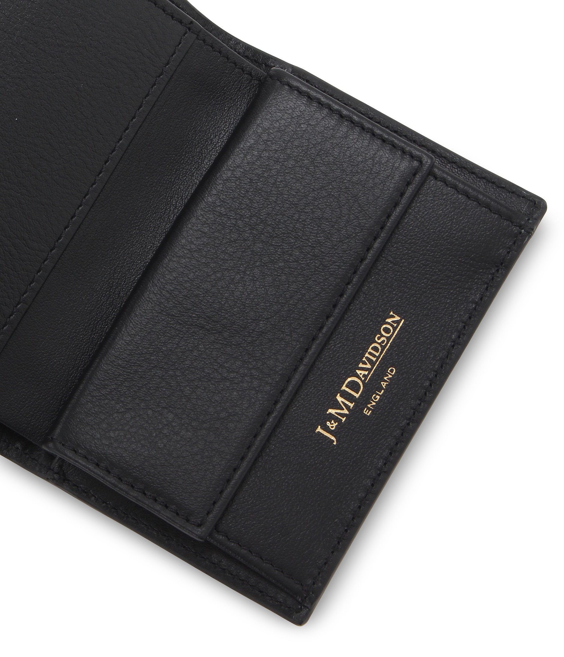 FOLDED WALLET WITH STUDS 詳細画像 BLACK 4