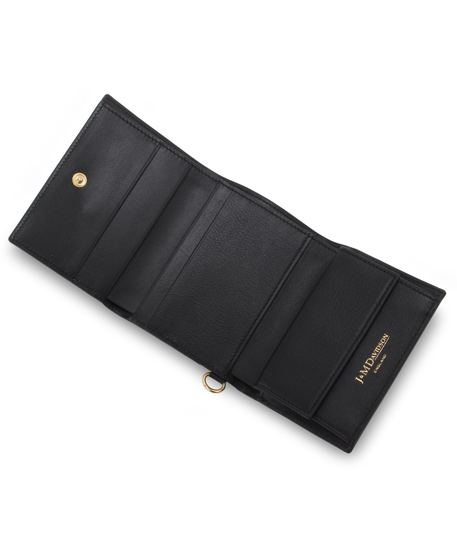 FOLDED WALLET WITH STUDS 詳細画像 BLACK 6