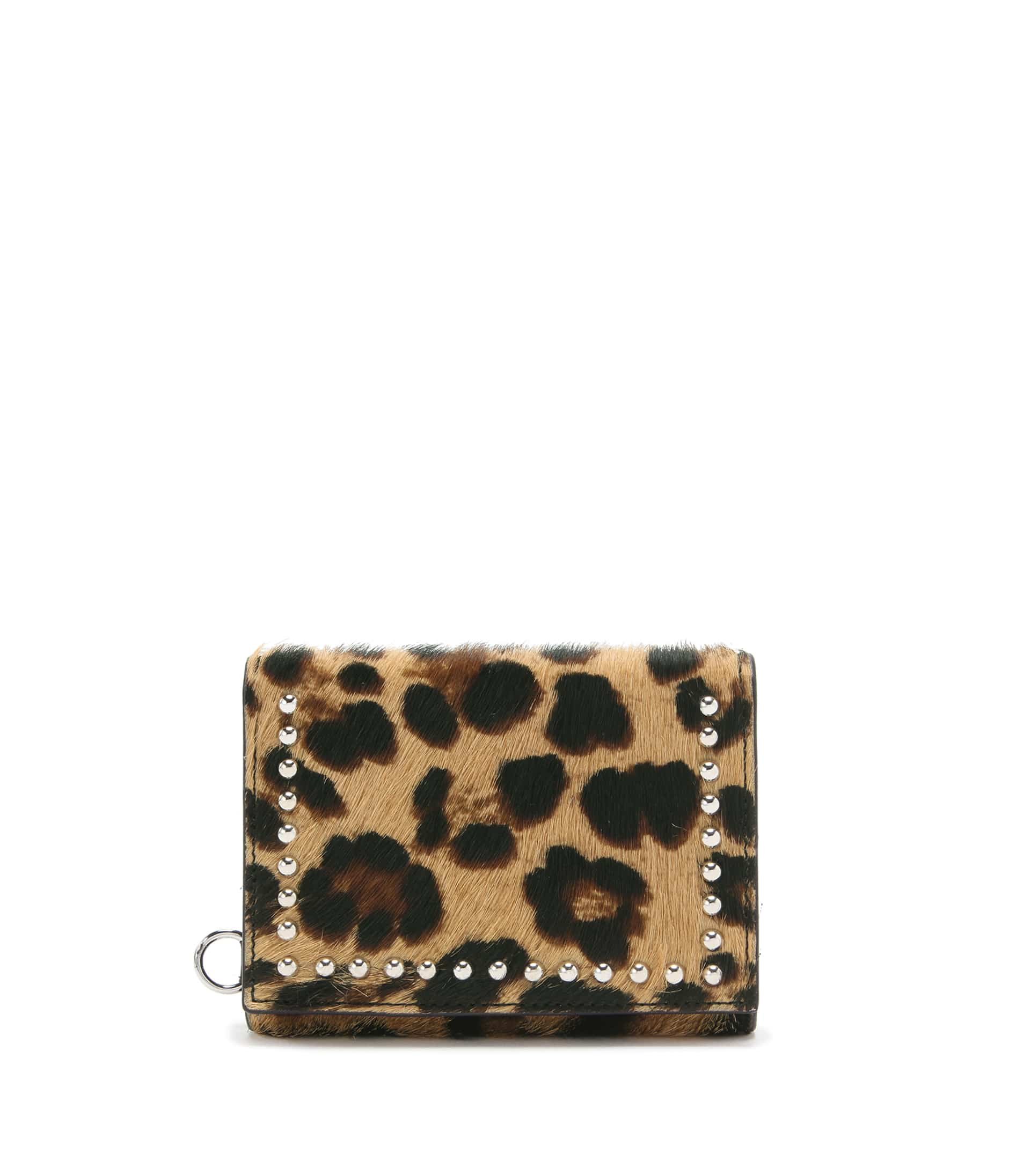 FOLDED WALLET WITH STUDS 詳細画像 LEOPARD 1