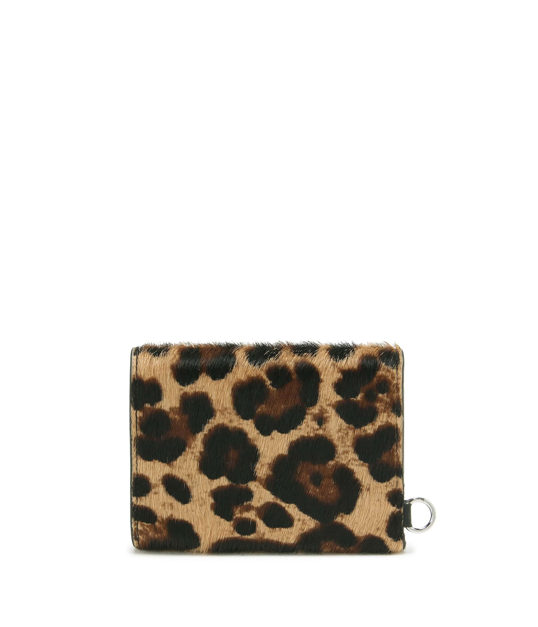 FOLDED WALLET WITH STUDS 詳細画像 LEOPARD 2