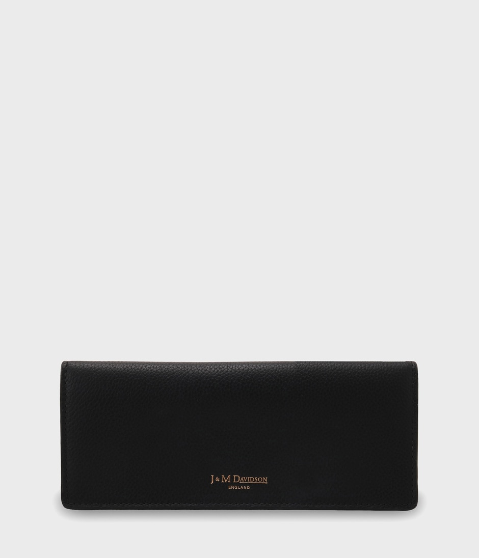 PLAIN FLAP WALLET 詳細画像 BLACK 1