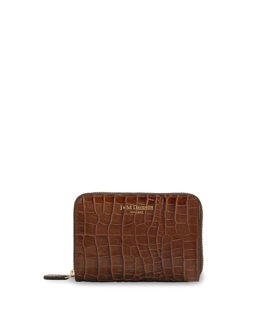 SMALL ZIP PURSE 詳細画像 BROWN 1