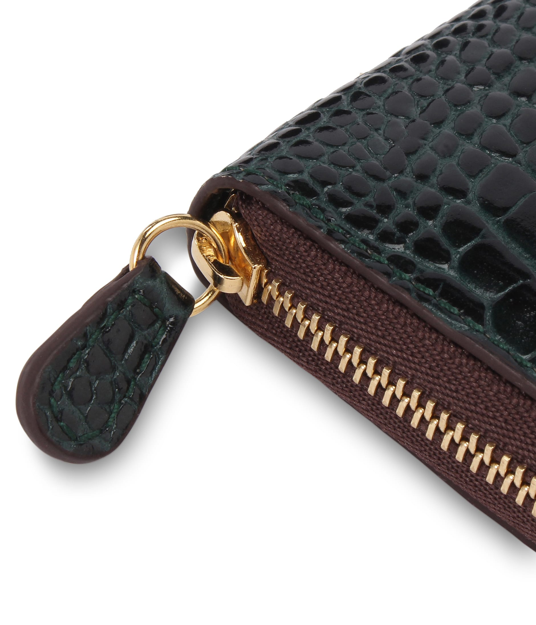 SMALL ZIP PURSE 詳細画像 BROWN 4