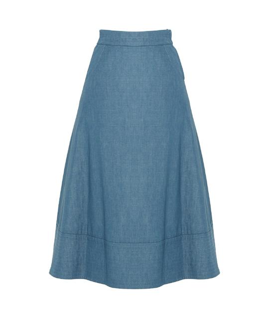 ウィロー スカート LIGHT BLUE