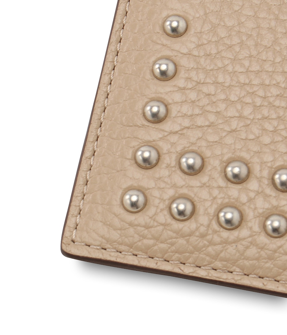 VISIT CARD HOLDER WITH STUDS 詳細画像 NEW WHITE 6