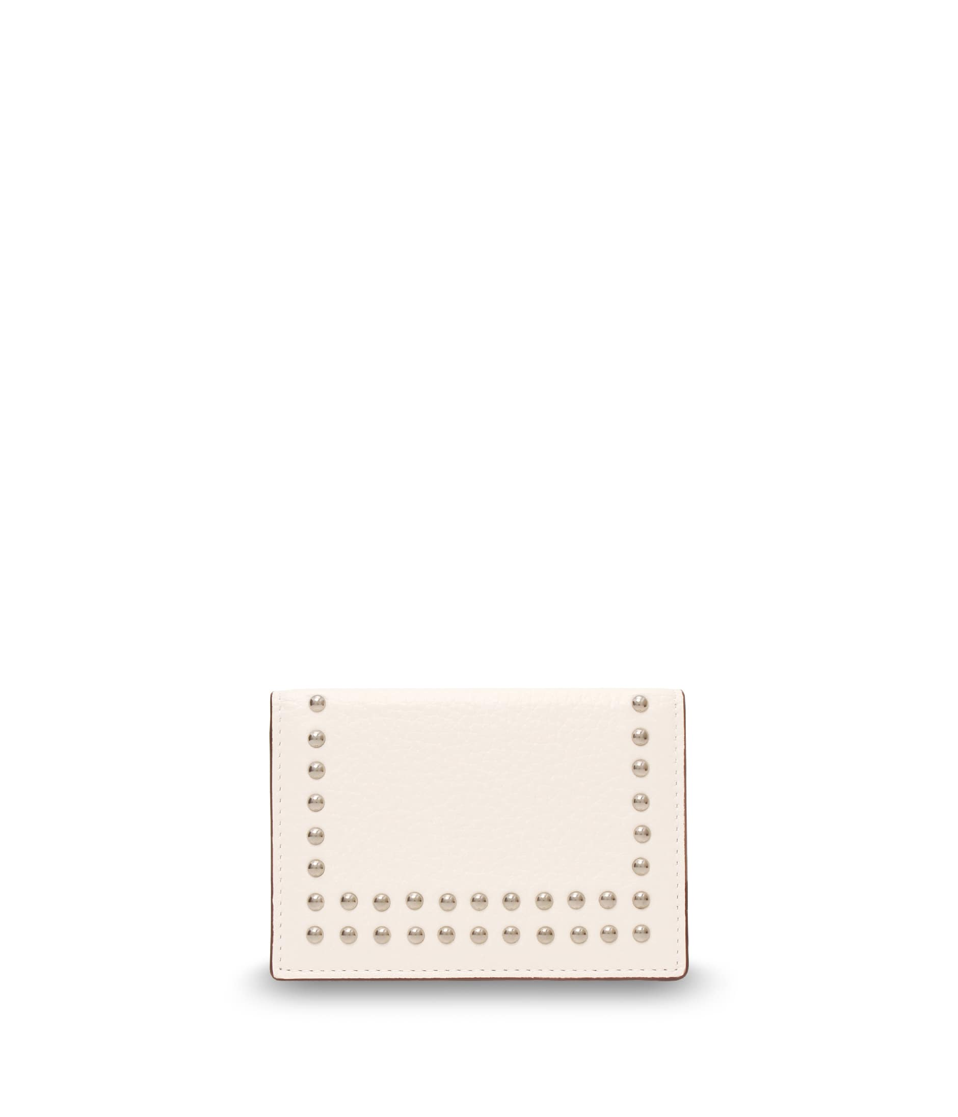 VISIT CARD HOLDER WITH STUDS 詳細画像 NEW WHITE 1