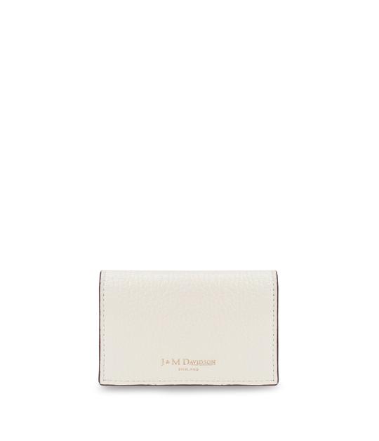 プレーン ビジネス カードケース NEW WHITE
