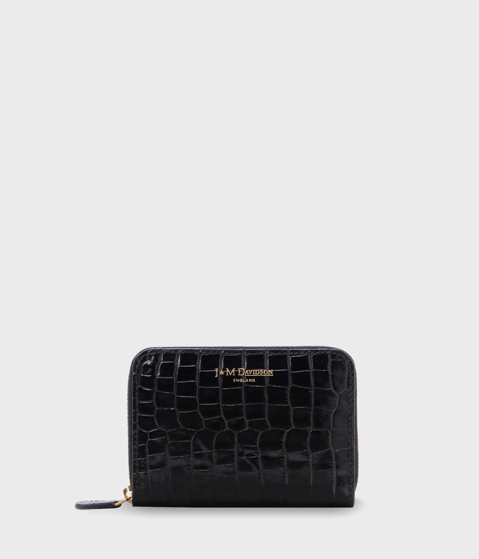 SMALL ZIP PURSE 詳細画像 BLACK 1