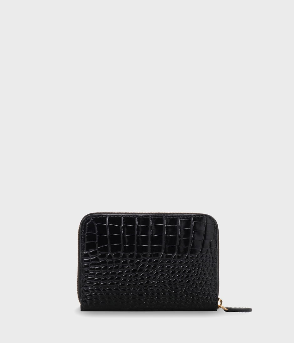 SMALL ZIP PURSE 詳細画像 BLACK 2