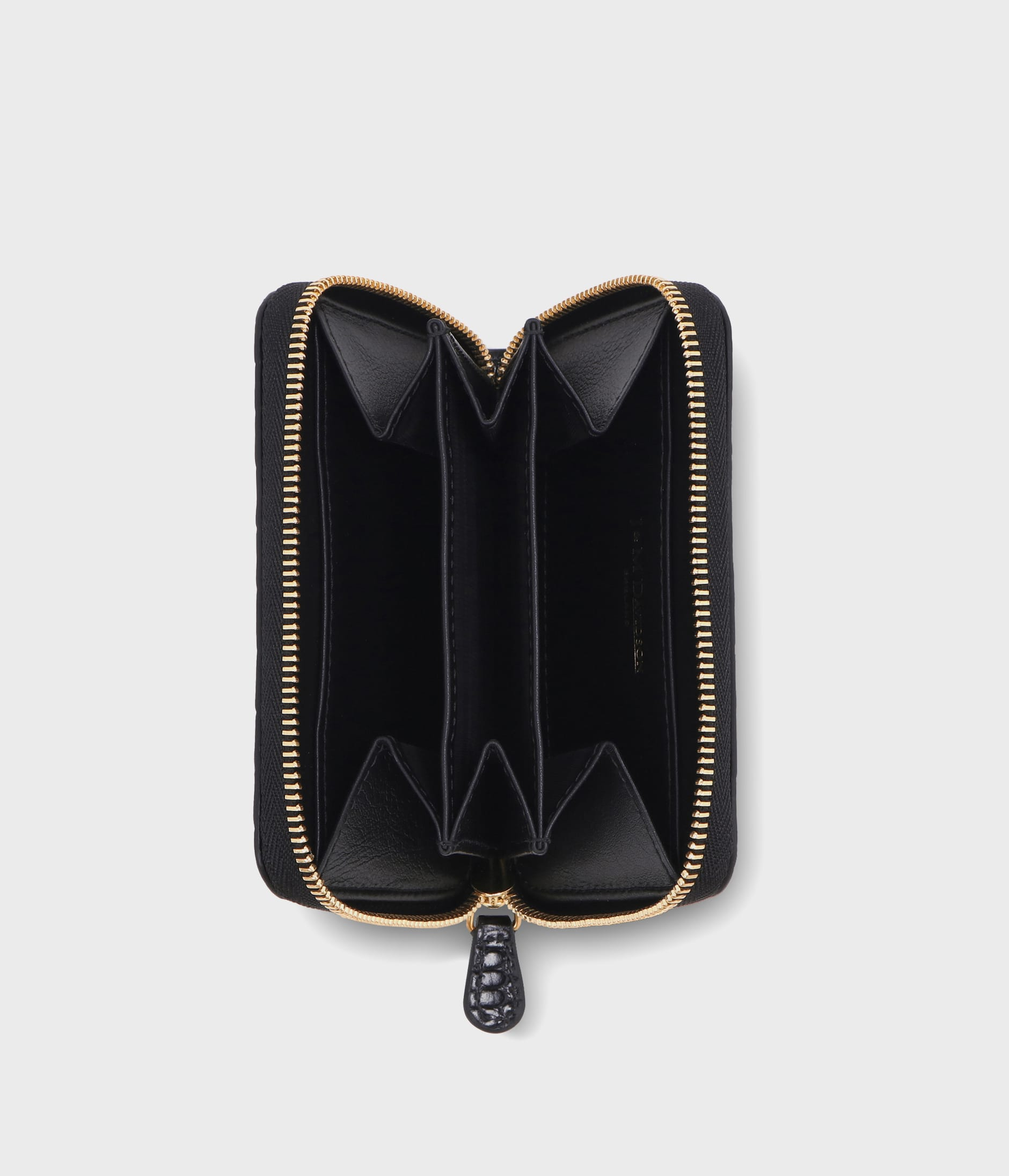 SMALL ZIP PURSE 詳細画像 BLACK 3