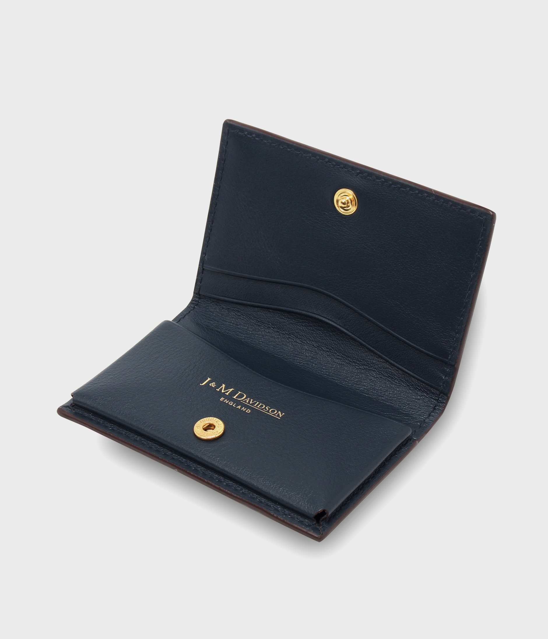 PLAIN BUSINESS CARD CASE 詳細画像 BOTTLE GREEN 4