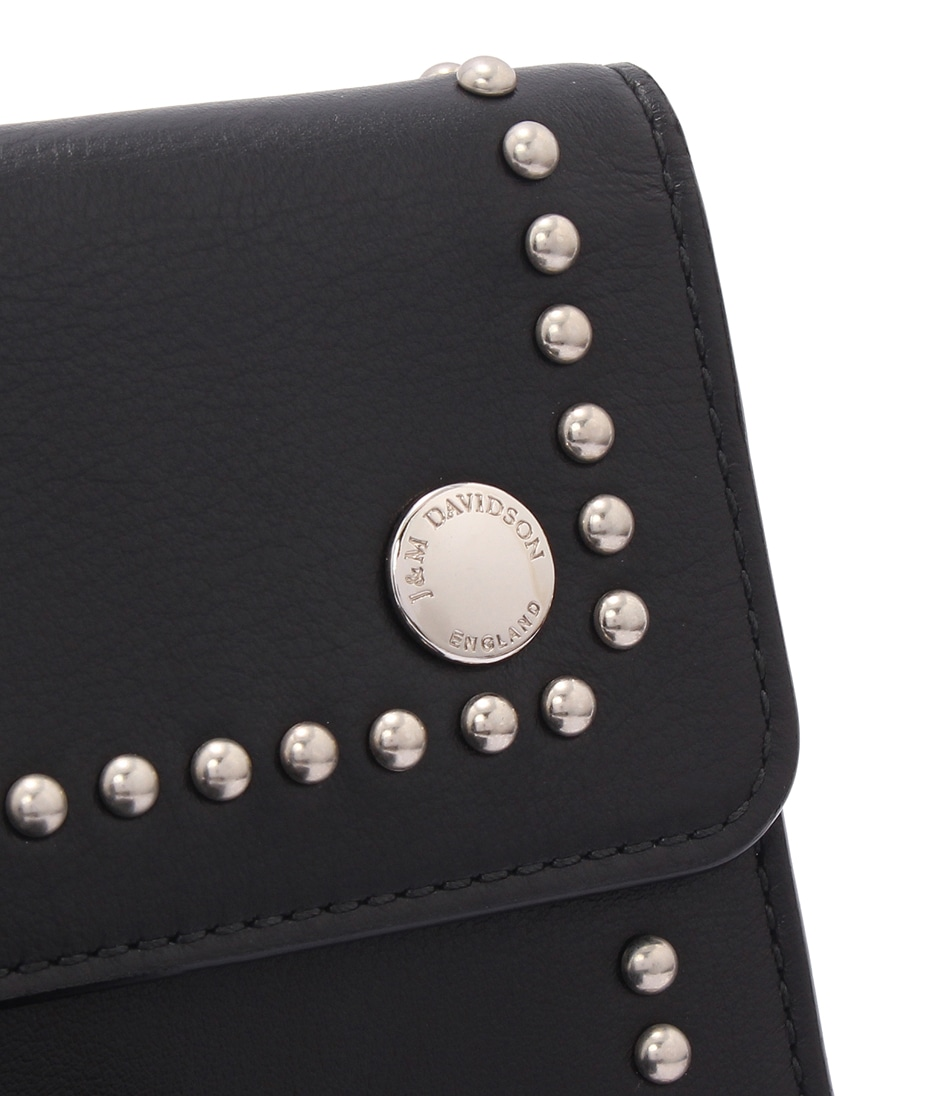 TRAVEL POUCH WITH STUDS 詳細画像 BLACK 3