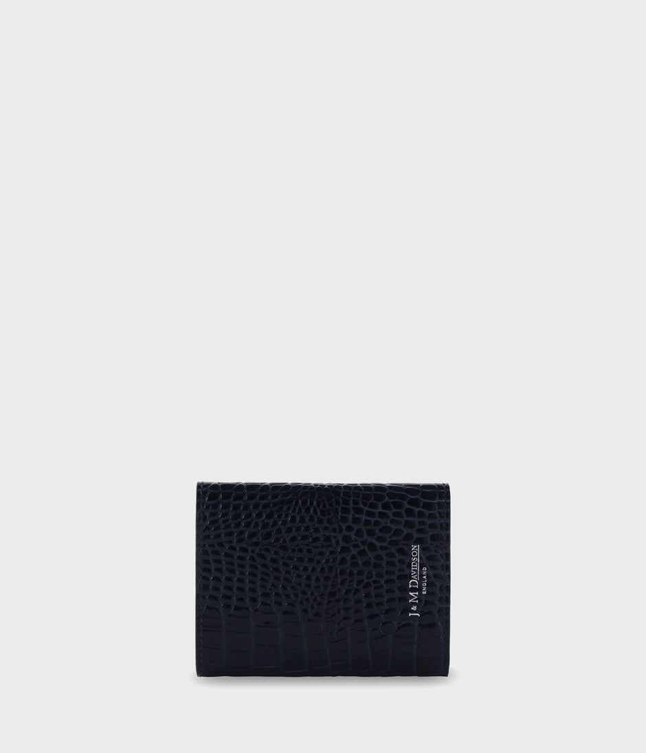 SMALL FOLDED WALLET WITH STUDS 詳細画像 NAVY 2