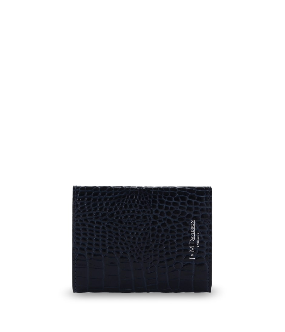 SMALL FOLDED WALLET WITH STUDS 詳細画像 BLACK 2