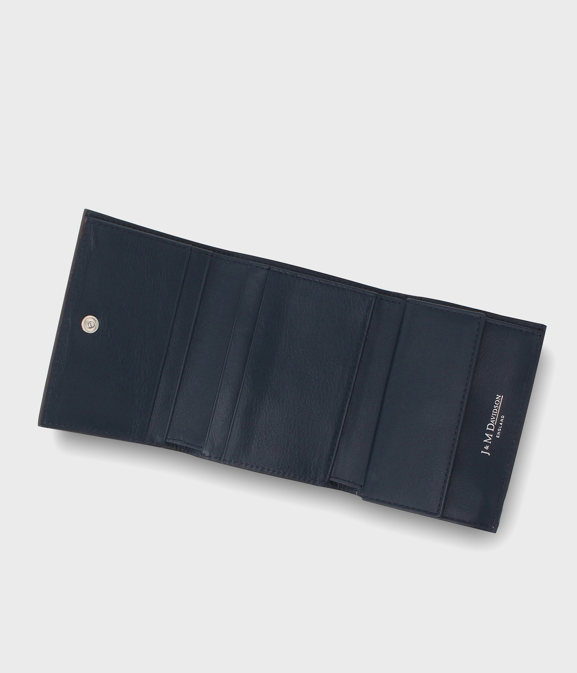 SMALL FOLDED WALLET WITH STUDS 詳細画像 NAVY 8