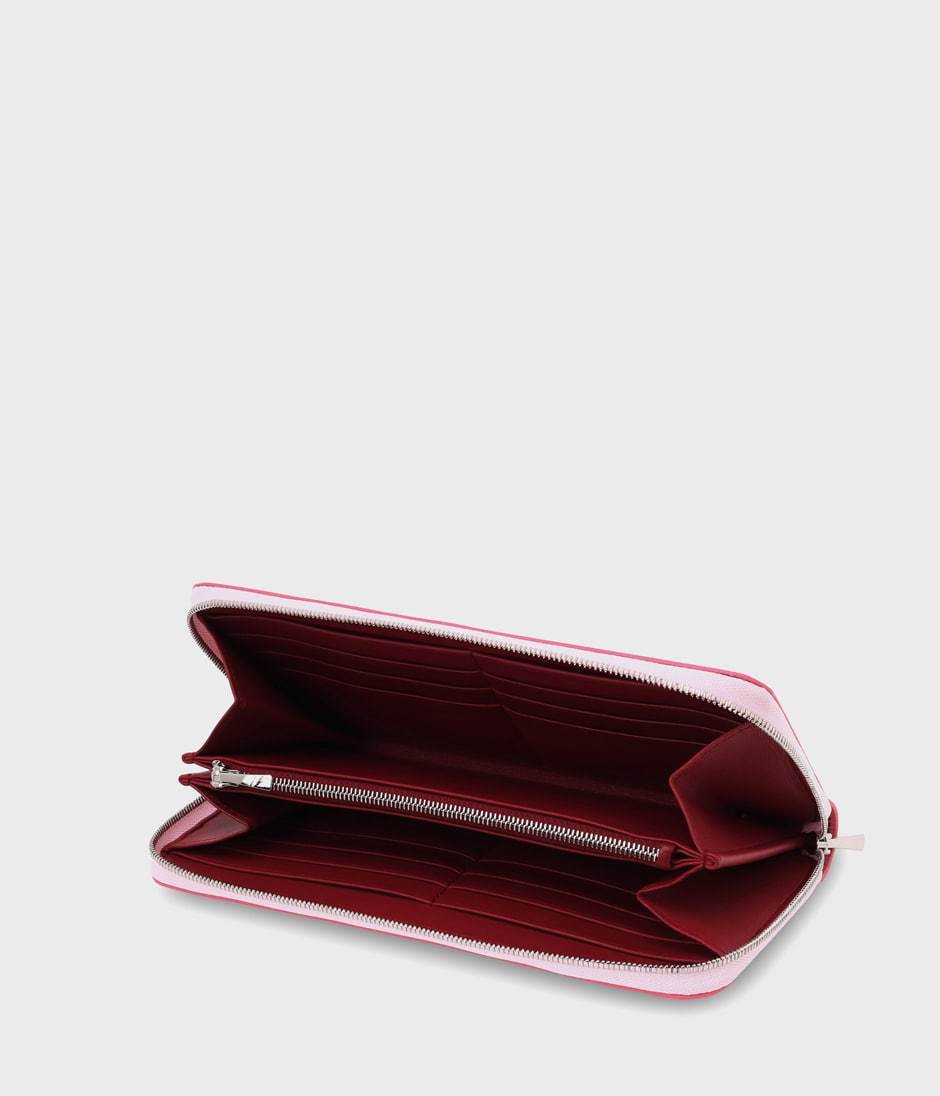 ZIP AROUND WALLET 詳細画像 PINK 2