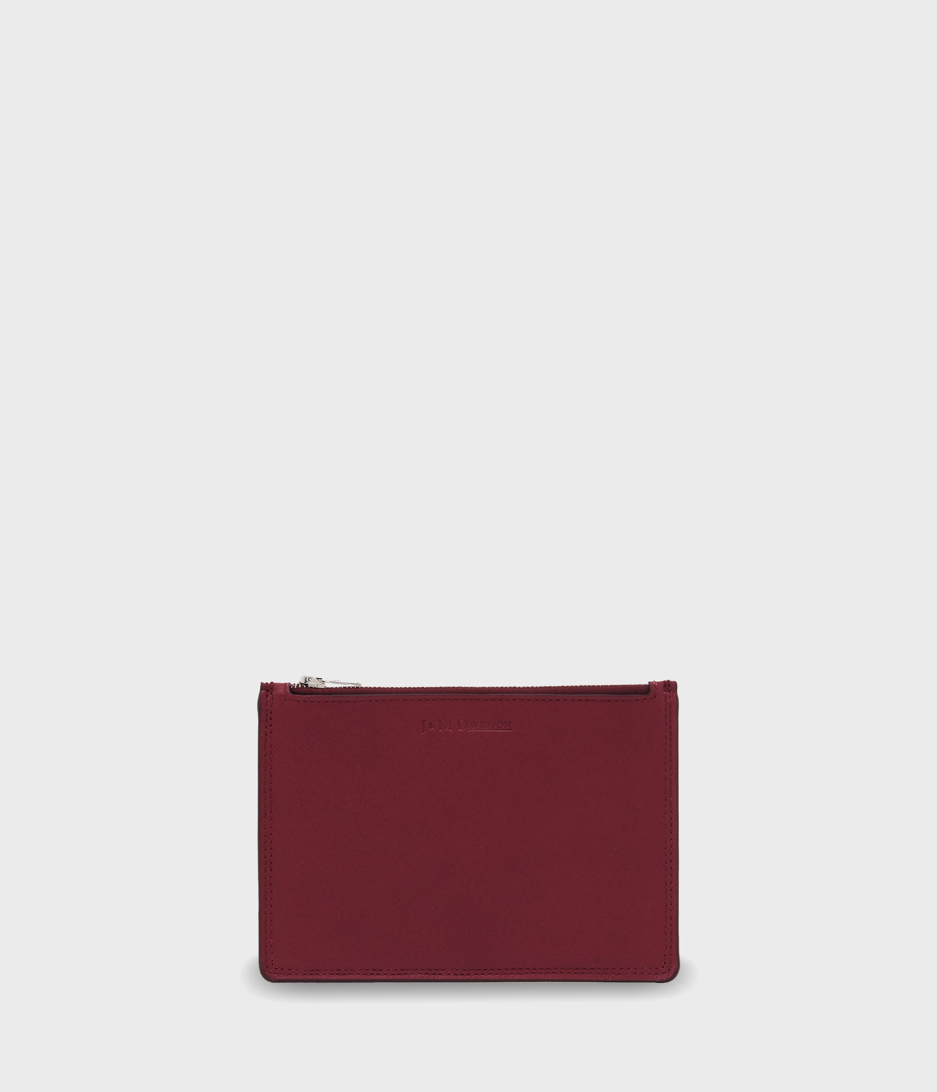 ZIP POUCH CARD HOLDER 詳細画像 BURGUNDY 1