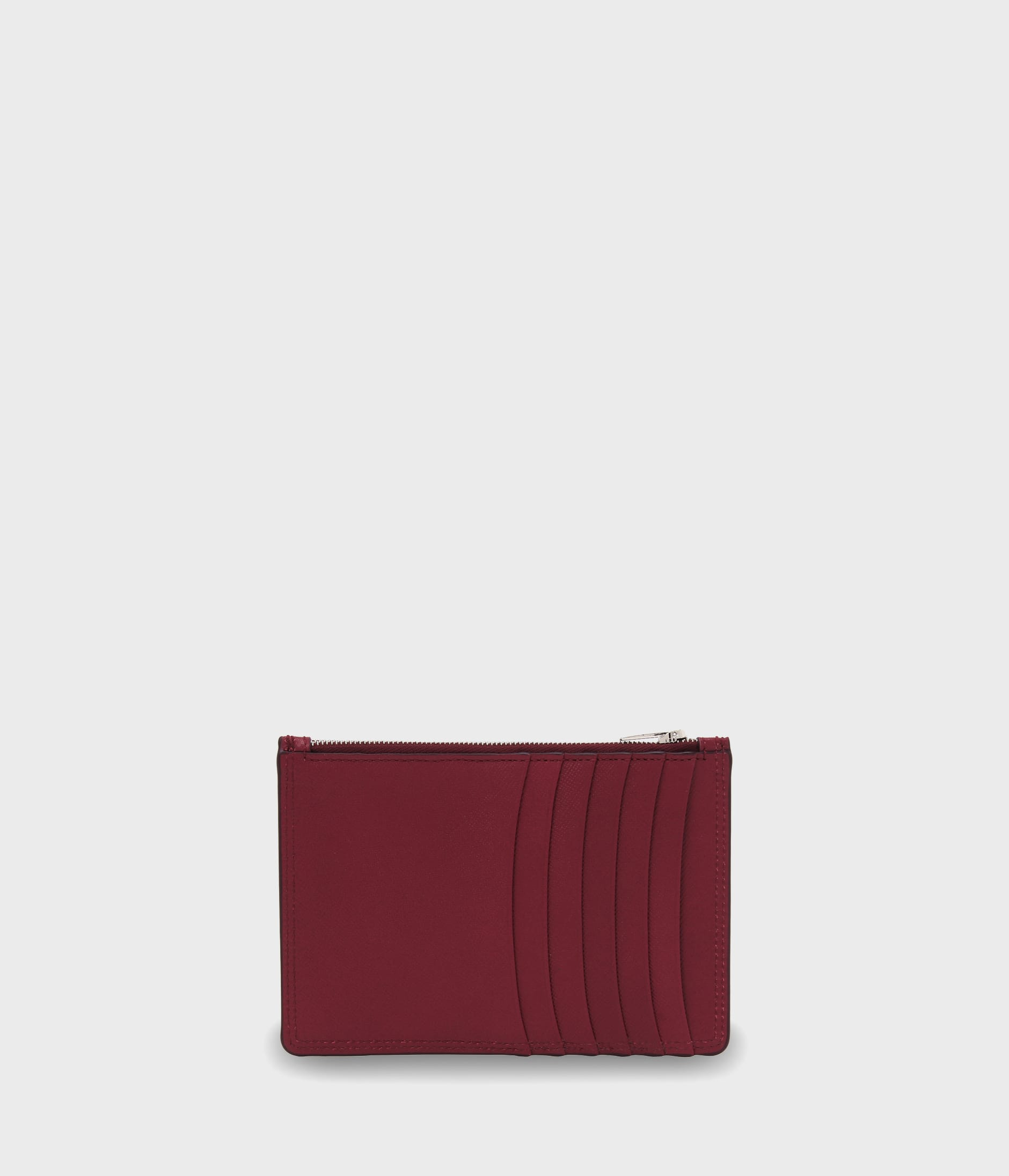 ZIP POUCH CARD HOLDER 詳細画像 BURGUNDY 2