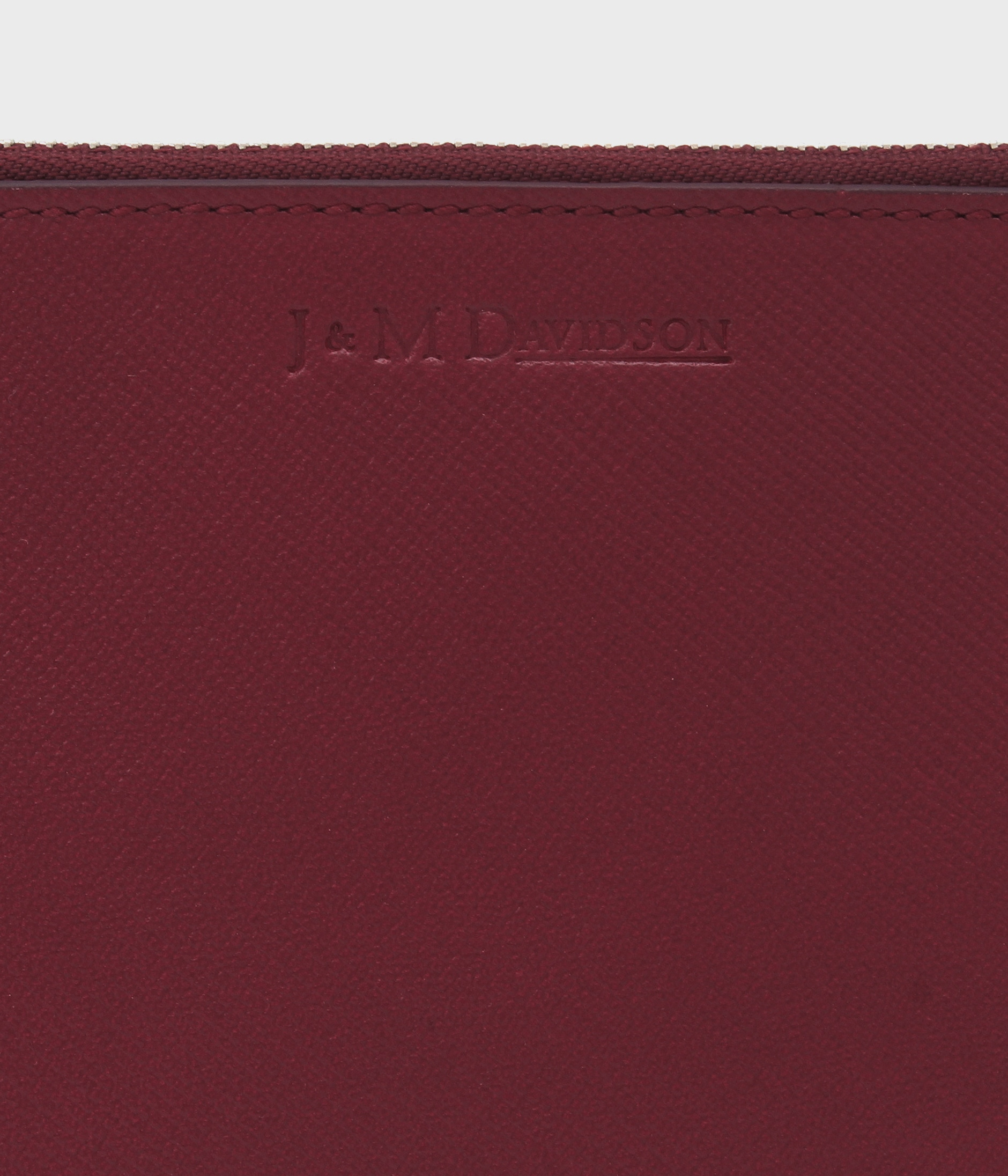 ZIP POUCH CARD HOLDER 詳細画像 BURGUNDY 4
