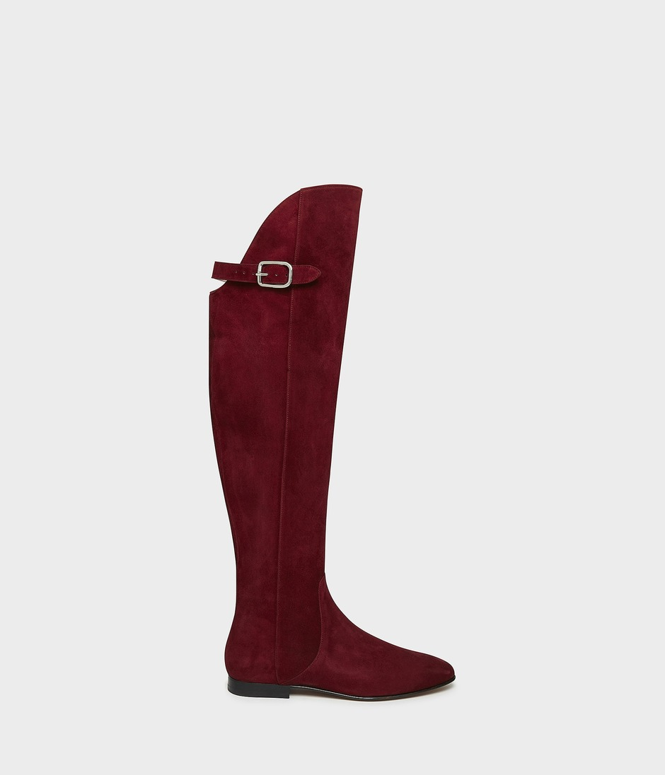 OVER THE KNEE RIDING BOOT 詳細画像 BURGUNDY 1