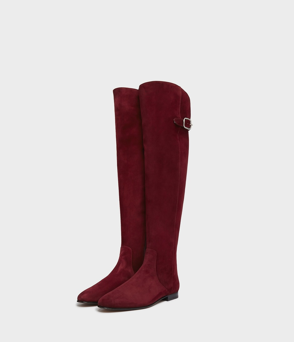 OVER THE KNEE RIDING BOOT 詳細画像 BURGUNDY 3