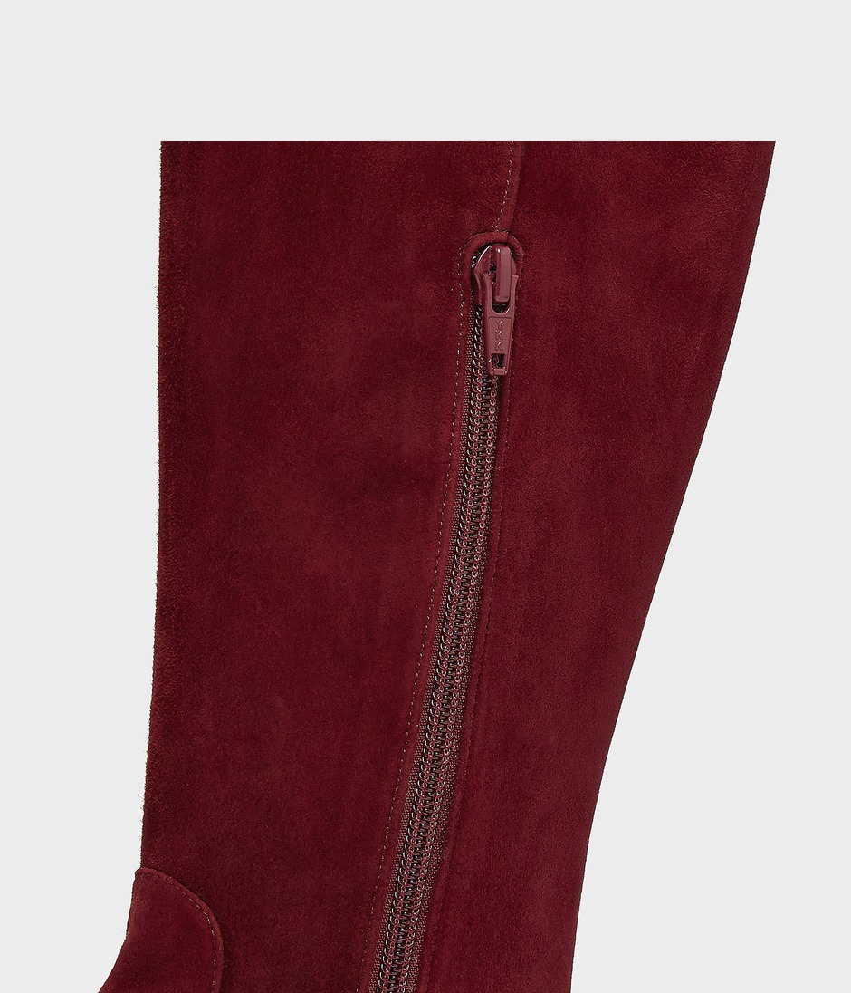 OVER THE KNEE RIDING BOOT 詳細画像 BURGUNDY 5